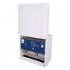 Amplificador mástil paso DC (UHF 2) 32 dB 2 entradas UHF LTE 2
