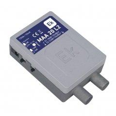 Micro amplificador interior 18-22 dB entrada UHF LTE 2, 2 salidas