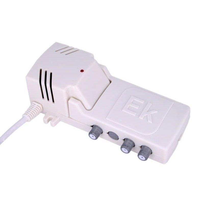 Amplificador interior 20 dB entrada UHF LTE 2, 2 salidas
