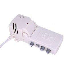 Amplificador interior 12 dB entrada UHF LTE 2, 4 salidas