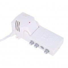 Micro central amplificadora (paso DC) 32-40 dB 2 entradas: VHF, UHF filtro SAW