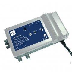 Central banda ancha 30-38 dB 3 entradas: VHF, 2xUHF, 1 salida + TEST