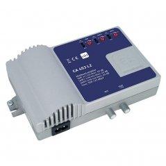 Central banda ancha 40-45 dB 3 entradas: VHF, 2xUHF, 1 salida + TEST