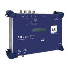 Central digital 4 entradas: FM, DAB/VHF/UHF, 2xUHF, 32 filtros UHF ultraselectivos