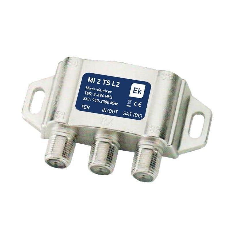 Mezclador/desmezclador 2 entradas: TER LTE 2, SAT