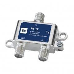 Distribuidor 2 salidas paso DC 3,8 dB pérdida de inserción Clase A