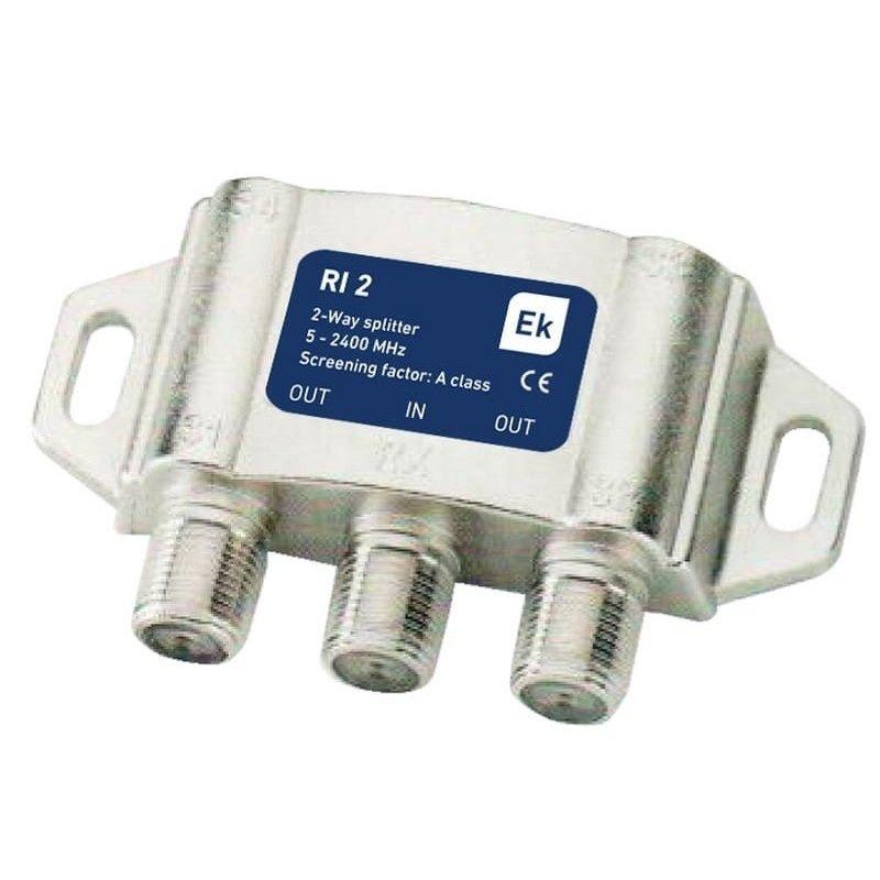 Distribuidor exterior 2 salidas paso DC 3,8-4,9 dB pérdida de inserción