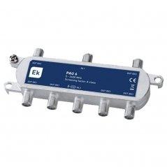 PAU blindado 6 salidas paso DC 10,5-14,5 dB pérdida de inserción Clase A