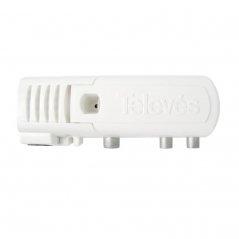 Amplificador interior 22 dB entrada UHF LTE 2, 2 salidas