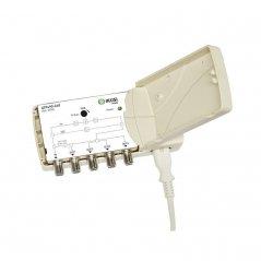Amplificador interior 18-22 dB entrada TER/SAT/VR 4 salidas