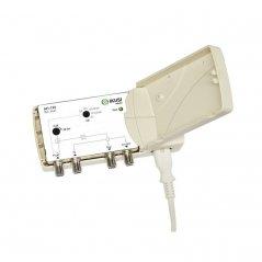 Amplificador/Acoplador SAT 34 dB 2 entradas: TER, SAT