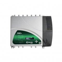 Central de amplificación programable TER/SAT. Entradas: BI/FM, DAB/BIII, EXT (VHF/UHF), 3xUHF, SAT