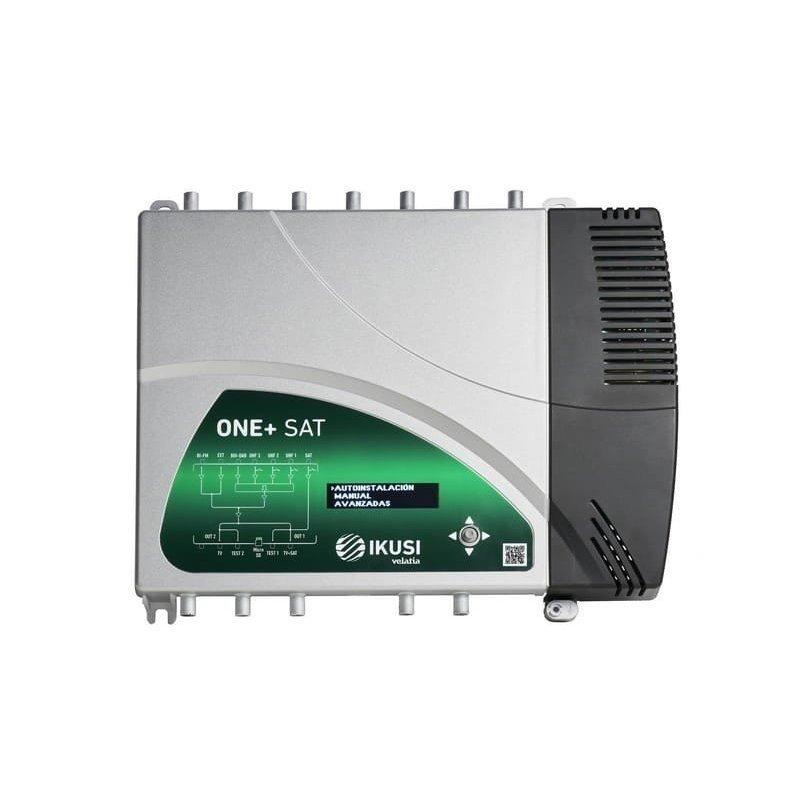 Central de amplificación programable TER Entradas: BI/FM, DAB/BIII, 3xUHF