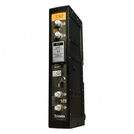 Amplificador monocanal/multicanal TDT 50 dB hasta 5 canales