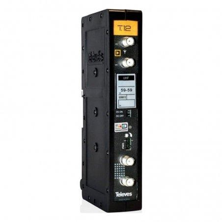 Amplificador monocanal UHF modular selectivo 55 dB