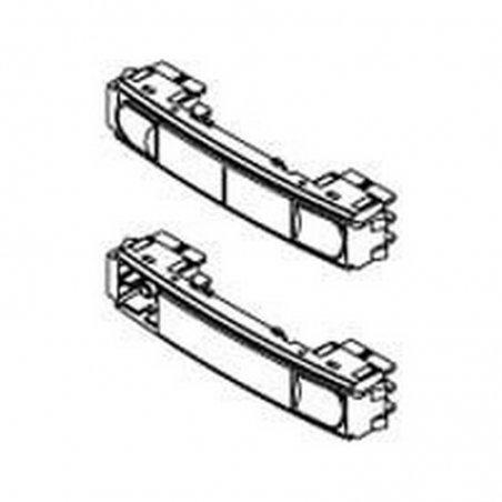 Repuesto original del pulsador doble City Classic de la serie Cityline Classic de porteros y videoporteros de FERMAX