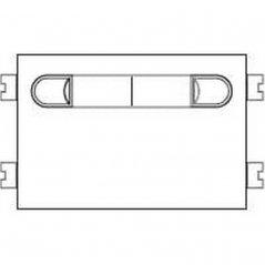 Repuesto original del módulo del pulsadores VDS 201 de la serie Citymax de porteros y videoporteros de FERMAX