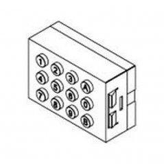 Repuesto original del teclado MDS digital de la serie Marine Classic de porteros y videoporteros de FERMAX