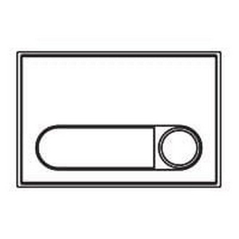 Repuesto original de 1 pulsador P101 de la serie Bruto de porteros y videoporteros de FERMAX