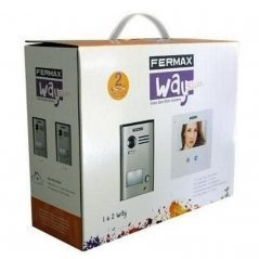 "Kit de videoportero Way Slim 4,3"" 1/L de Fermax"