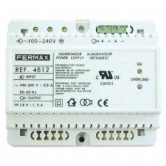 Alimentador DIN6 100-240vac/18vdc-1