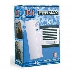 Kit de portero City Classic S1 con telefonillo Citymax 1/L de Fermax