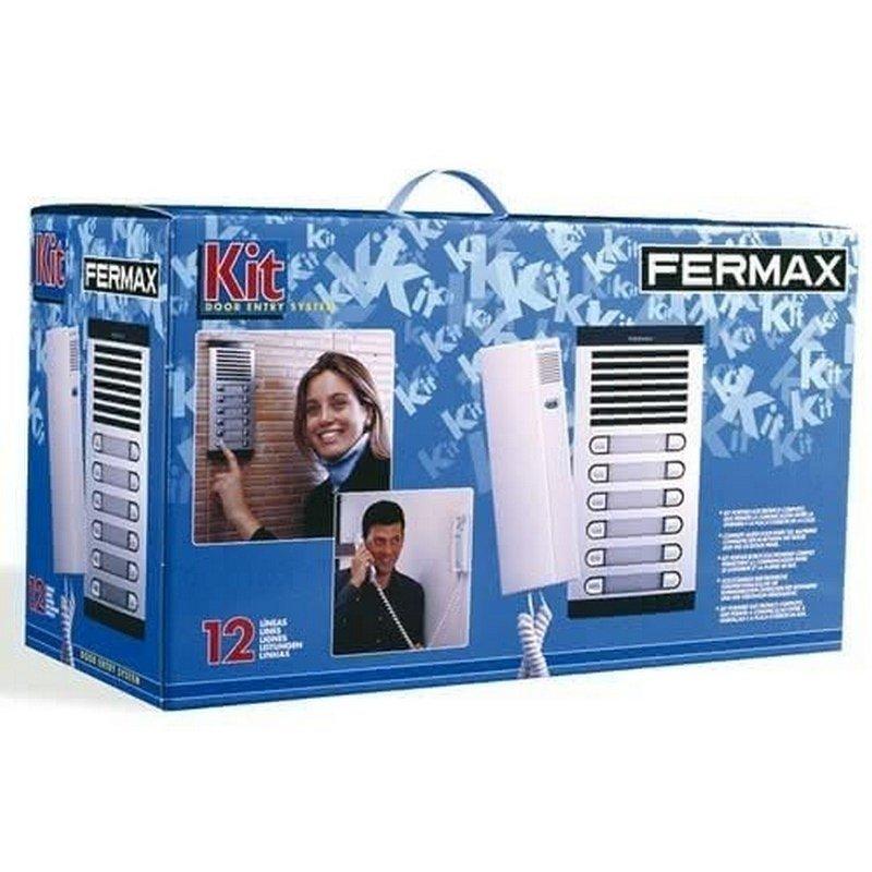 Kit de portero City Classic S4 con telefonillo Citymax 3/L de Fermax