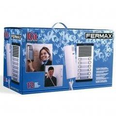 Kit de portero City Classic S4 con telefonillo Citymax 6/L de Fermax