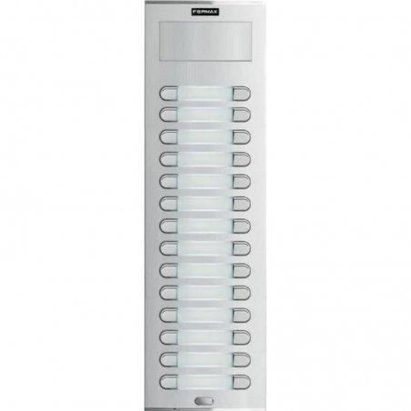 Placa de 28 pulsadores City S9 de Fermax