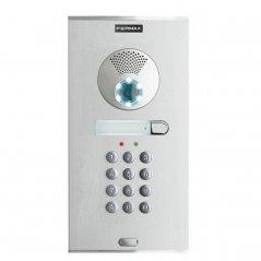 Placa de videoportero City Memovision 1 pulsador con Acceso Numérico VDS de Fermax (ref. 7342)