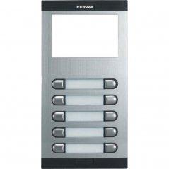Placa de portero City Classic S5 de 10 pulsadores con directorio de Fermax