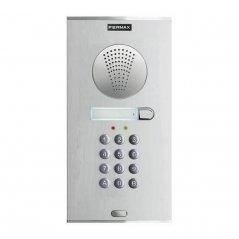 Placa de portero City Memophone S5 de 1 pulsador DUOX PLUS de Fermax (ref. 49041)