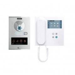 Kit de videoportero City Oto DUOX PLUS con monitor VEO Wifi 1/L de Fermax