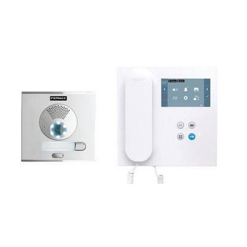 Kit de videoportero City DUOX PLUS con monitor VEO Wifi 1/L
