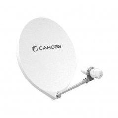 Antena parabólica offset de fibra de 65 cm 10,7-12,75 GHz 35,2 dB de Cahors