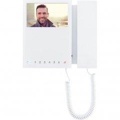 Monitor Mini 8 pulsadores Simplebus 2/VIP blanco de Comelit