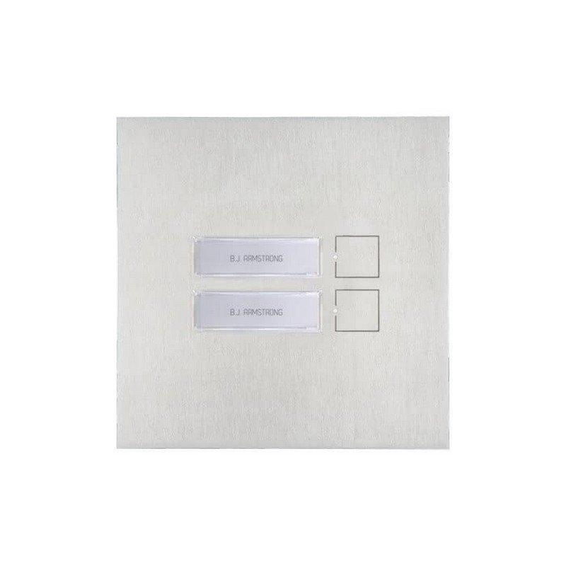 Módulo Architectus-Pro 2 pulsadores VIP de Comelit