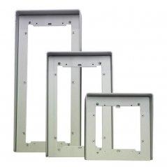 Visera antilluvia Ikall 4+N/Simplebus 2/VIP de aluminio de Comelit