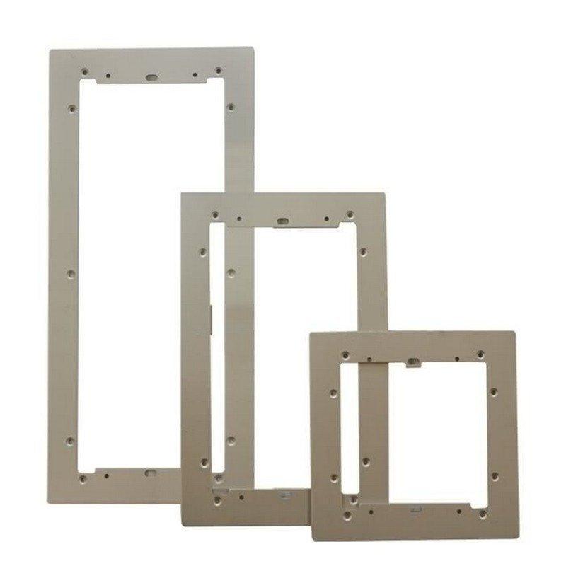 Marco embellecedor Ikall/Ikall Metal 4+N/Simplebus/VIP 9 módulos de aluminio de Comelit