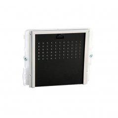 Módulo de Audio Ikall sin pulsador Simplebus/VIP tapa negra de Comelit