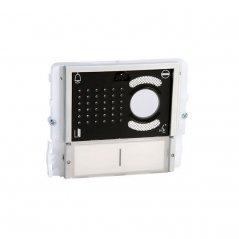 Módulo de audio/vídeo Ikall 2 pulsadores Simplebus/VIP tapa negra de Comelit