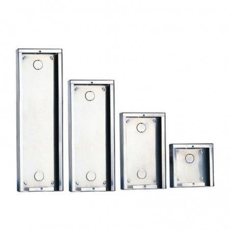 Caja de Superficie Ikall/Powercom 3+3 Módulos 4+N/Simplebus de Comelit