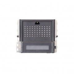 Módulo de audio Ikall Metal 1 pulsador Simplebus 1/VIP de Comelit