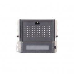 Módulo de audio Ikall Metal 2 pulsadores Simplebus 1/VIP de Comelit