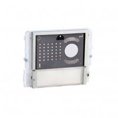 Módulo Ikall Metal 1 pulsador Unidad Audio/Vídeo VIP de Comelit