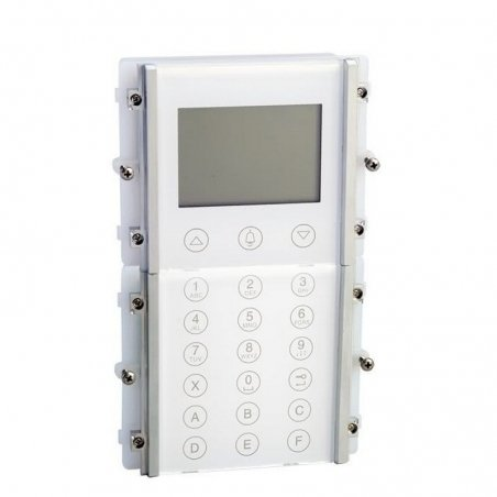 Módulo Llamada Digital Powercom blanco de Comelit