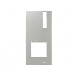 Placa de portero/videoportero Quadra VIP aluminio de Comelit
