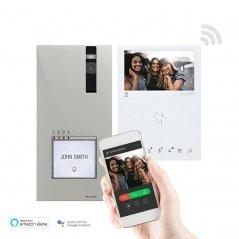 Kit de videoportero Mini HF Wifi Quadra Simplebus 2 de Comelit