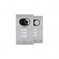 Placa Switch 3 pulsadores 1 columna Simplebus/VIP de Comelit