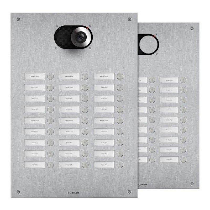 Placa de portero/videoportero Switch 27 pulsadores 3 columnas Simplebus/VIP de Comelit